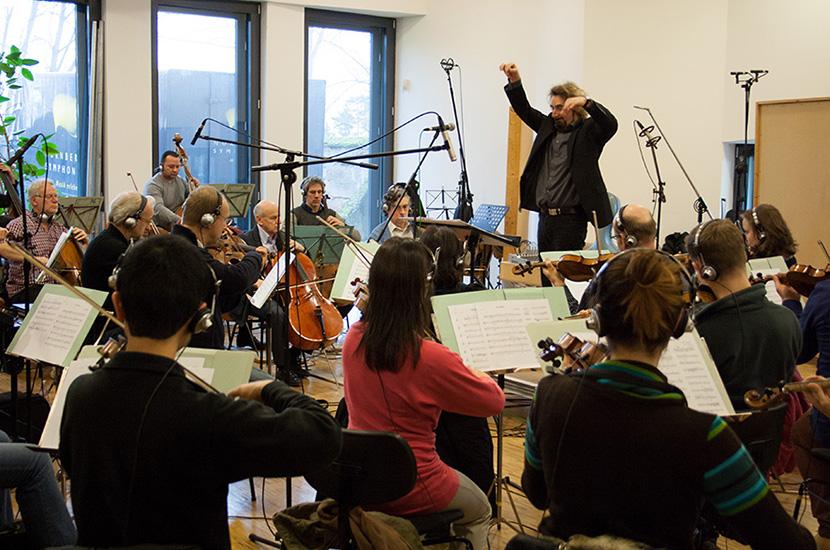 Nürnberger Symphoniker im Streetlife Studio mit Dirigent Heinz Walter Florin